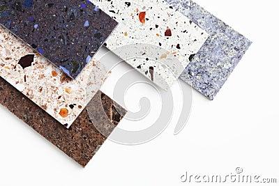 Countertop samples