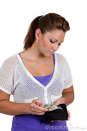 Counting Her Money