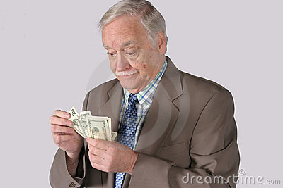 Counting Out His Money