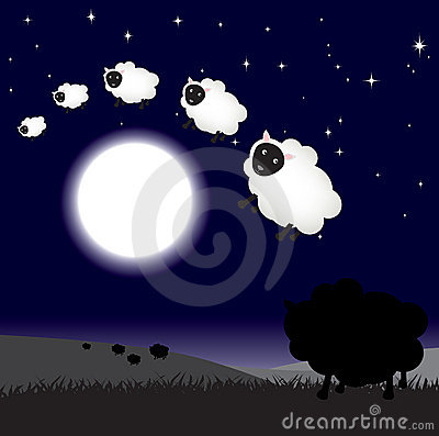 Counting sheep at night