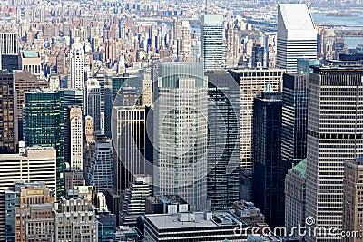 Countless New York City Manhattan Skyscrapers