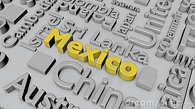 Countries of the world: Mexico