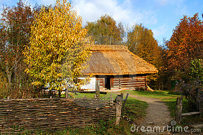 Country ancient house