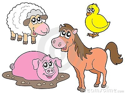 Country animals collection