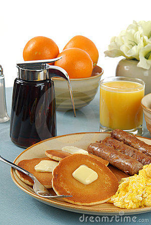 Free Country Breakfast Royalty Free Stock Photo - 3970375