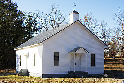 Country Church Stock Photo - Image: 3739550