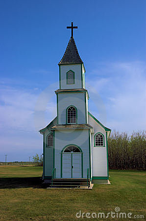 Free Country Church Royalty Free Stock Photos - 720558