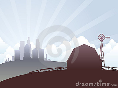 Country and city