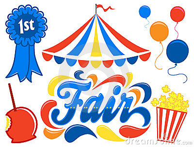 Country Fair Clipart Set/eps