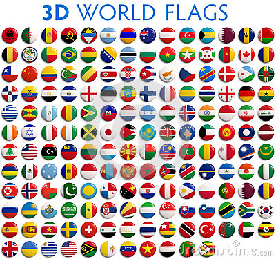 Free Country Flags Of The World Stock Images - 41703514