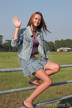 Country Girl Waves