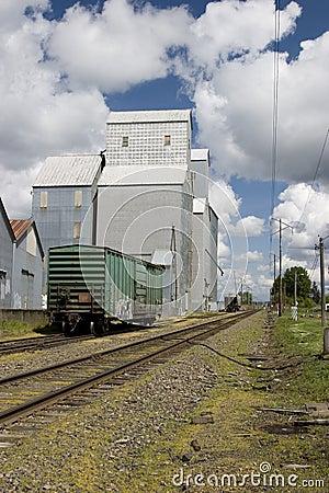 Country grain elevator