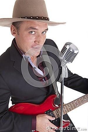 Country guitar man