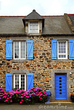 Country house in Brittany, Fra