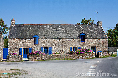 Country house in Brittany France