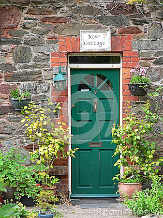 Country house door