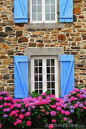 Free Country House In Brittany Royalty Free Stock Photos - 3235308
