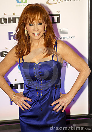 Country music artist and actress Reba McEntire Editorial Photo