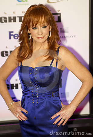Country music artist and actress Reba McEntire Editorial Photography
