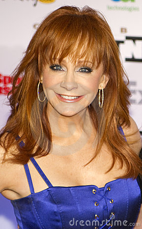 Country music artist and actress Reba McEntire Editorial Stock Photo