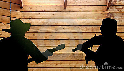 Country Music Silhouette