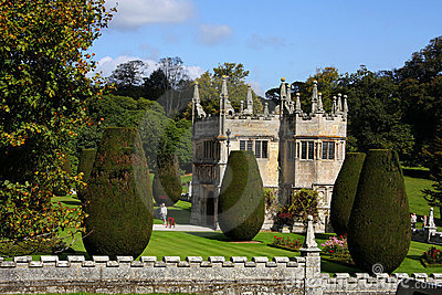 country old house of Lanhydrock, Bodmin, UK