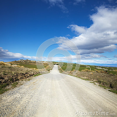 Country Road Otago New Zealand