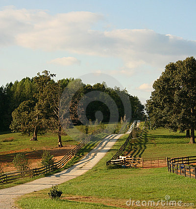 Free Country Roads Of Virginia USA. Stock Photo - 1826320