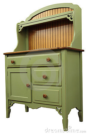 Free Country Style Cupboard Royalty Free Stock Photos - 1885858