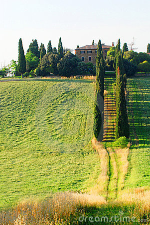 Country villa in Tuscany