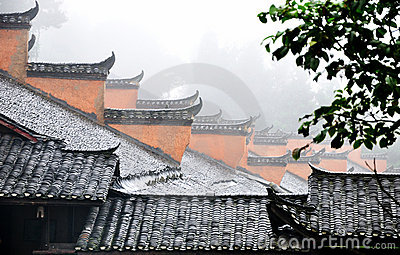 Countryside architecture in Chinese