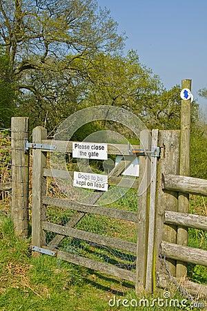 Free Countryside Gate Stock Photos - 19255683