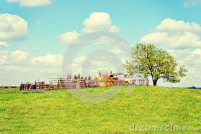 Countryside landscape Stock Photo