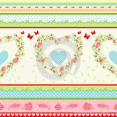 Free Countryside Pattern Royalty Free Stock Photos - 25645628
