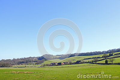 Countryside rural landscape
