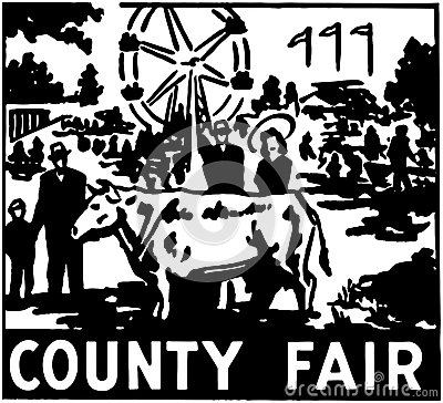 County Fair Clipart Black And White