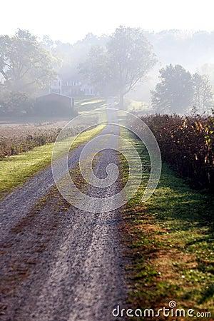 Free County Road Indiana Stock Photo - 3444540