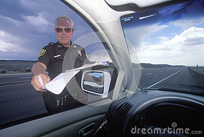 County sheriff Editorial Stock Image