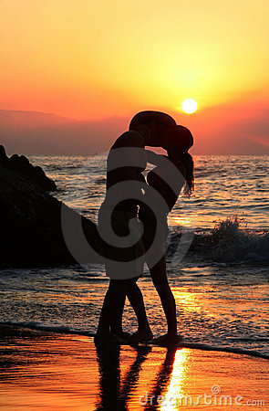 Free Couple At Sunset Stock Photos - 366683