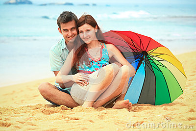 Couple on the beach