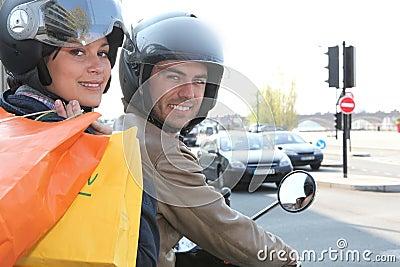 Couple of bikers