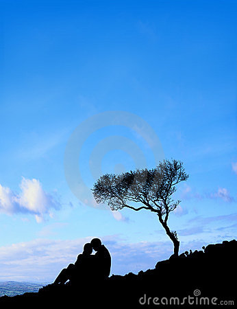 Couple (Blue Sky)