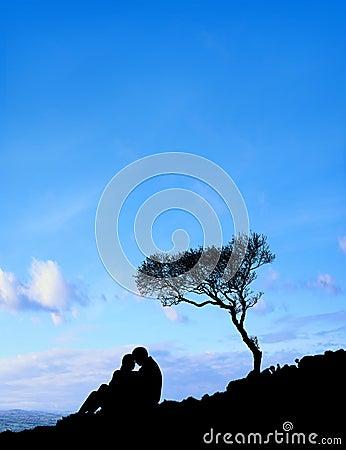 Couple (Blue Sky)