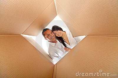 Couple in a box