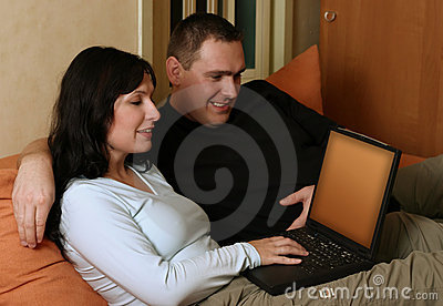 Couple Browsing WWW 3