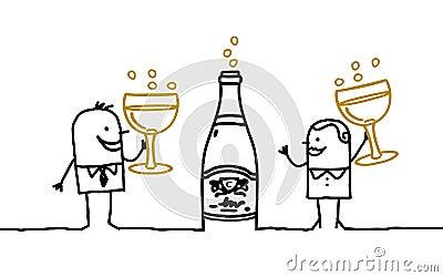 Couple & Champagne