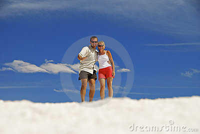 Couple In Clouds