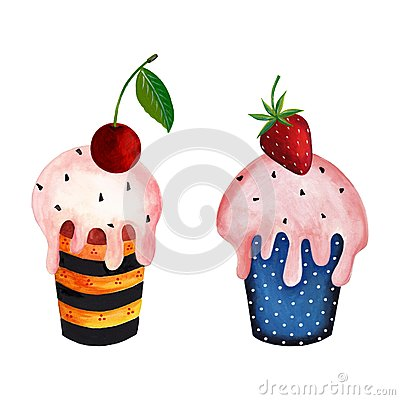 Couple of cupcakes