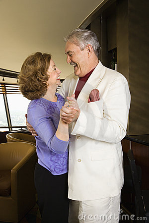Free Couple Dancing. Royalty Free Stock Photography - 3422117