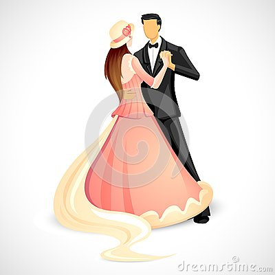Couple doing Ball Dance